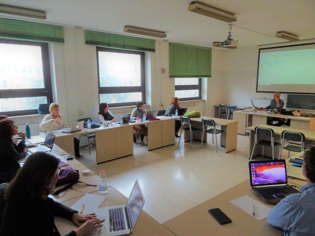 Corso di copywriting in aula
