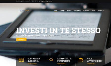 Nuovo sito, nuove collaborazioni e nuovi corsi!