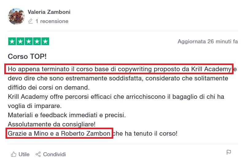 Recensione Valeria Zamboni